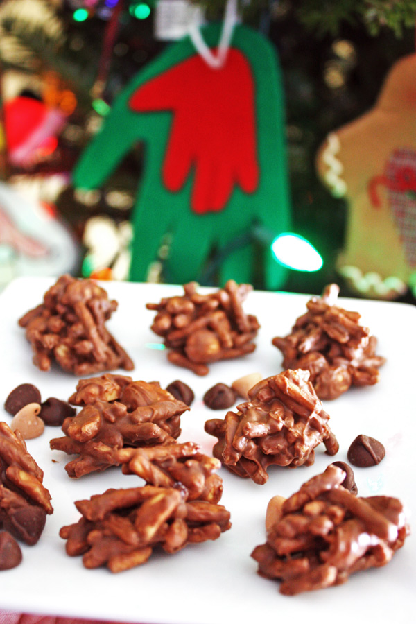 Christmas Chow Mein Noodle Cookie