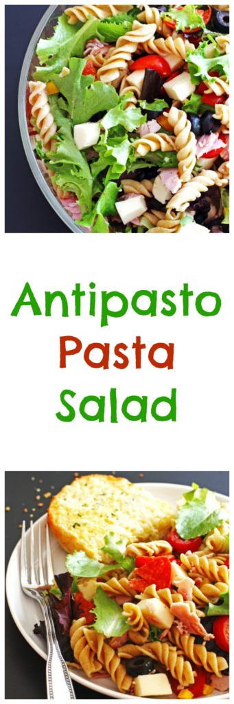 Antipasto, Pasta, Salad, Dinner, Recipe, Quick and Easy