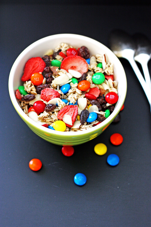 Trail Mix-a quick and easy snack.