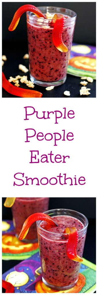 Purple People Eater Smoothie